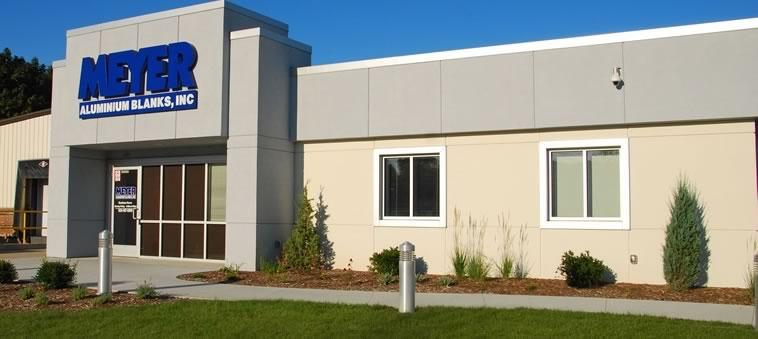 Meyer Aluminum Blanks Building