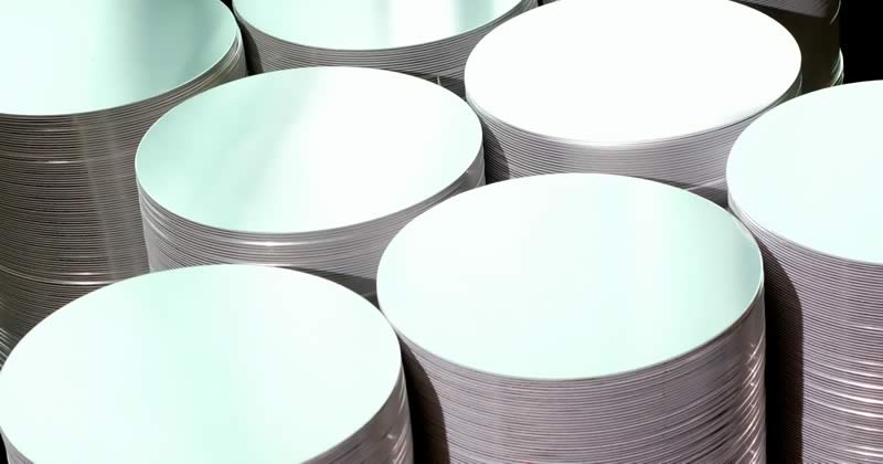 Aluminum Products: Aluminum Circles from Meyer Aluminum Blanks, Inc.